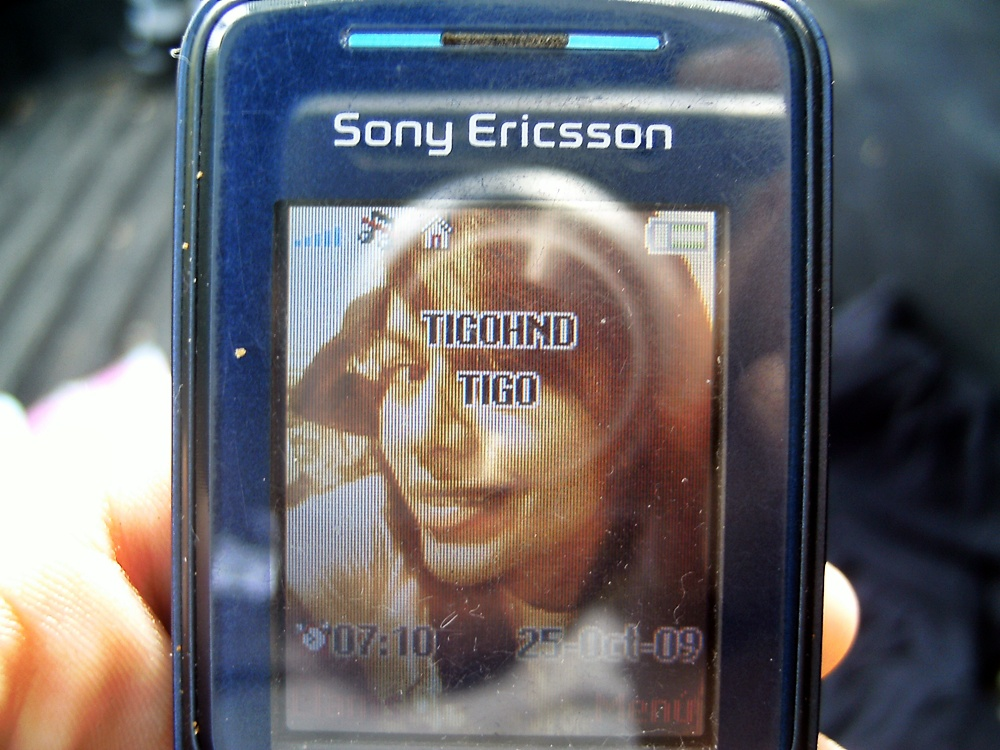 Sony Ericsson tigo Honduras