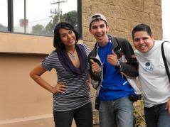 Después de grabar ^_^ con @krlitoxescobar & @edwingraf :3 ¡Gracias por ayudarme, son el éxito! :