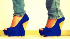 Blue Wedges thanks to Aviesta