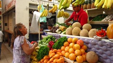The Hidalgo Market at Querétaro City