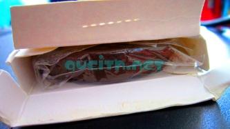 Pero cuando la vi así, pensé que era un mini Chocolate Abuelita (que sí, pero no se puede comer, jijiji) ^_^