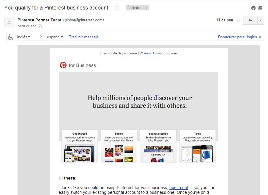 invitación-para-probar-pinterest-para-empresas