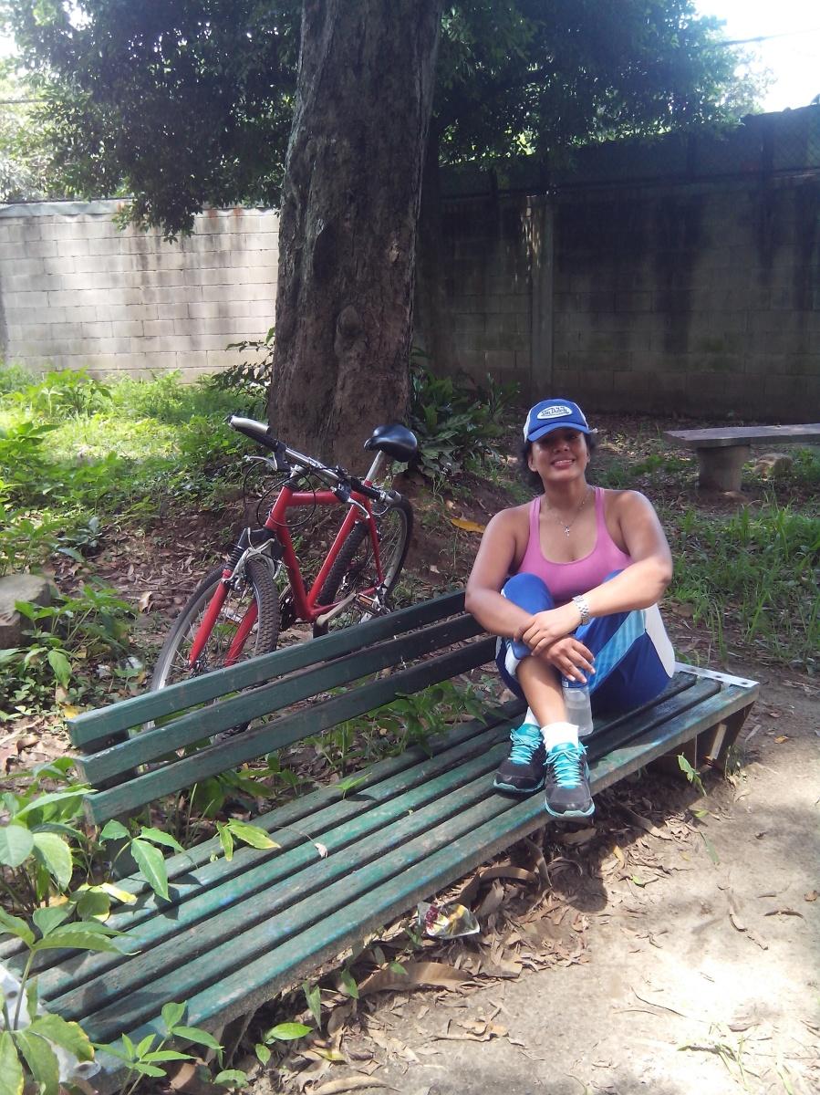 El transporte privado en San Salvador.